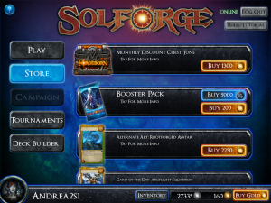 SolForge Store